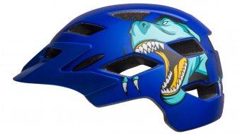 Bell Sidetrack Youth 儿童头盔 型号 均码 youth (50-57厘米) t-rex matte blue 款型 2019