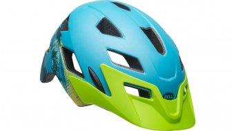 Bell Sidetrack Youth 儿童头盔 型号 均码 youth (50-57厘米) matte blue/bright green 款型 2019