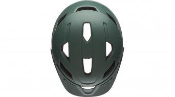 Bell Sidetrack Youth 儿童头盔 型号 均码 youth (50-57厘米) matte dark green/橙色 款型 2019