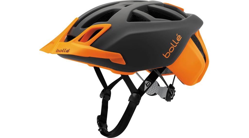 Bollé The One MTB(山地) 头盔 型号 51-54厘米 grey/flash 橙色 款型 2018