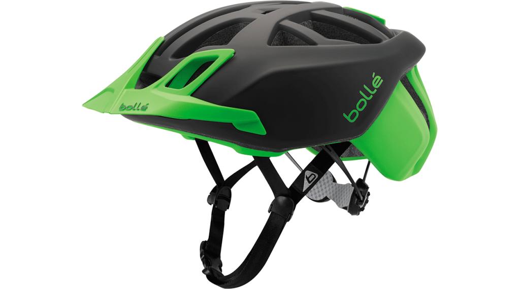 Bollé The One MTB(山地) 头盔 型号 51-54厘米 black/flash green 款型 2018