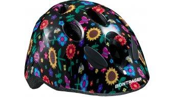 Bontrager Big Dipper casco bambino mis. unisize (48-52cm) black flowers