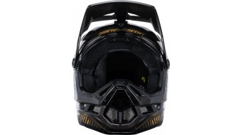 CrankBrothers X 100% Aircraft Carbon MTB Fullface-Helm Ltd. Edition Gr. S (55/56cm) black/gold
