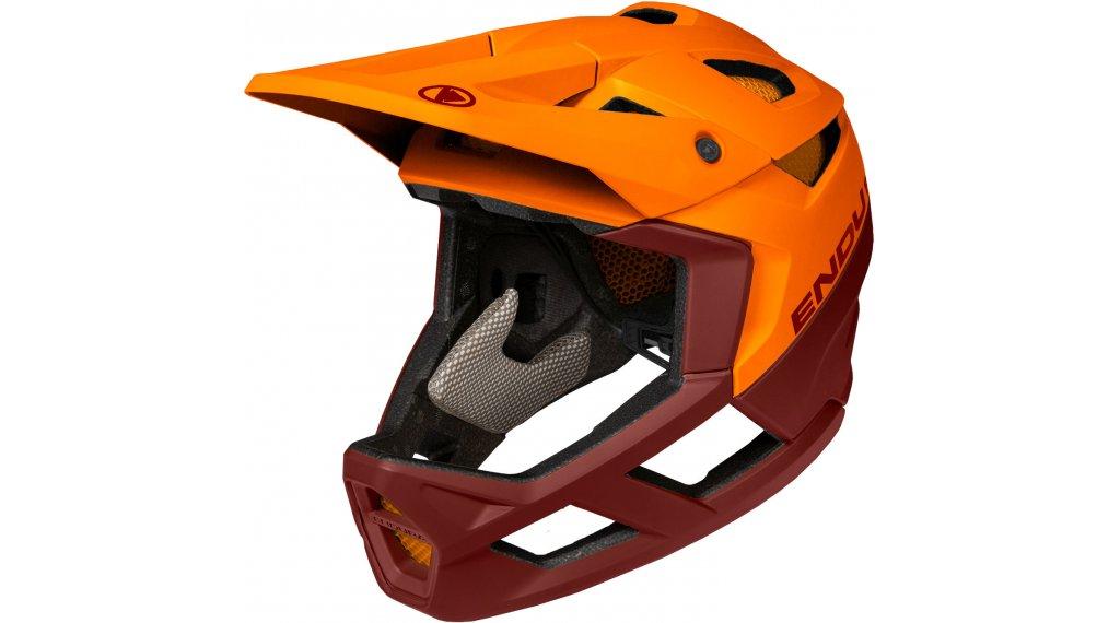 Endura MT500 Fullface MTB-Helm Gr. L/XL (58-63cm) tangerine