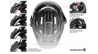 Endura Singletrack II MTB-Helm Gr. L-XL (58-63cm) petroleum