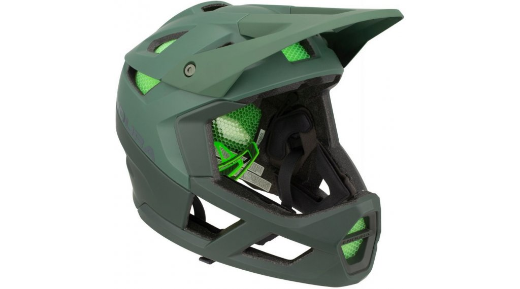 Endura MT500 Fullface MTB- helmet size M/L (55-59cm) forest green