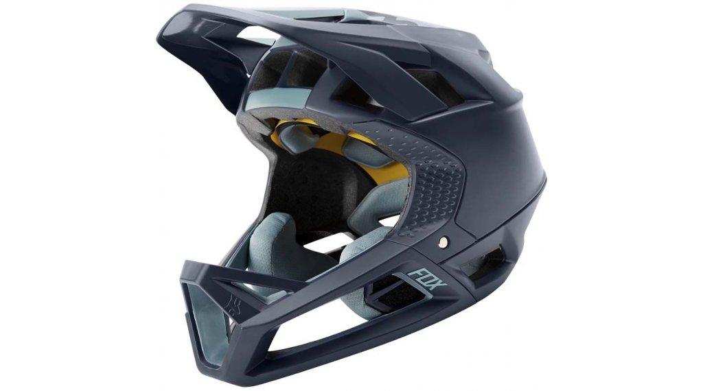 Fox Proframe Matte Fullface MTB-Helm Gr. L navy Mod. 2020