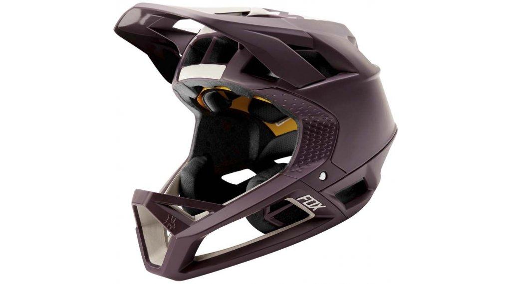 Fox Proframe Matte Fullface MTB-Helm Gr. S dark purple Mod. 2020