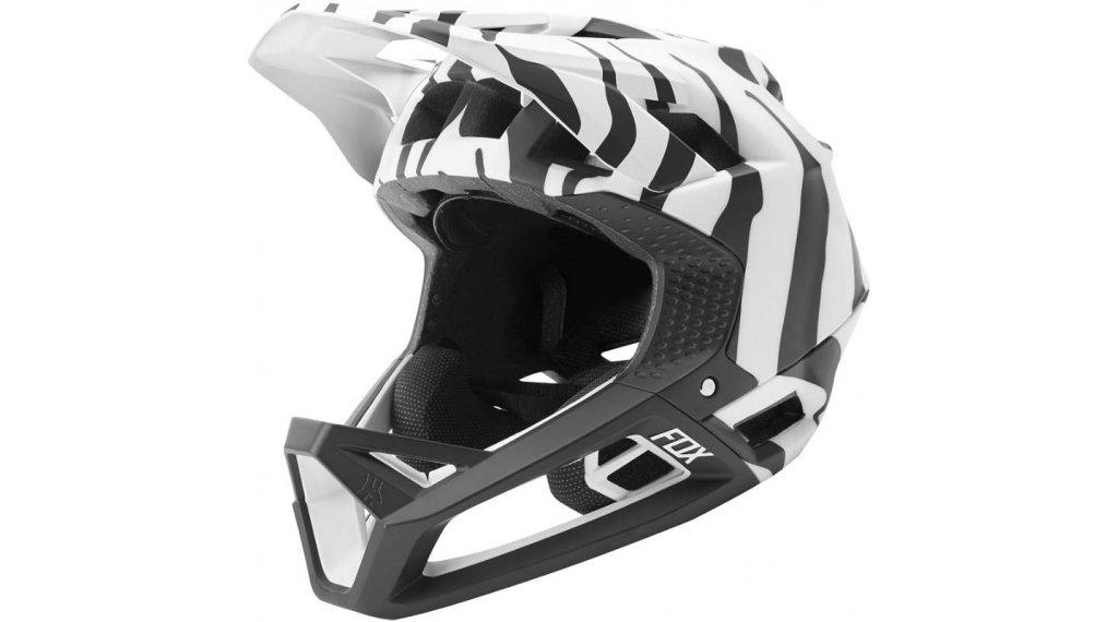 Fox Proframe Fullface Helm Limited Edititon Gr. XL zebra Mod. 2020