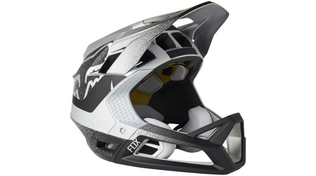 Fox Proframe Vapor Fullface Fahrradhelm Gr. L silver/black