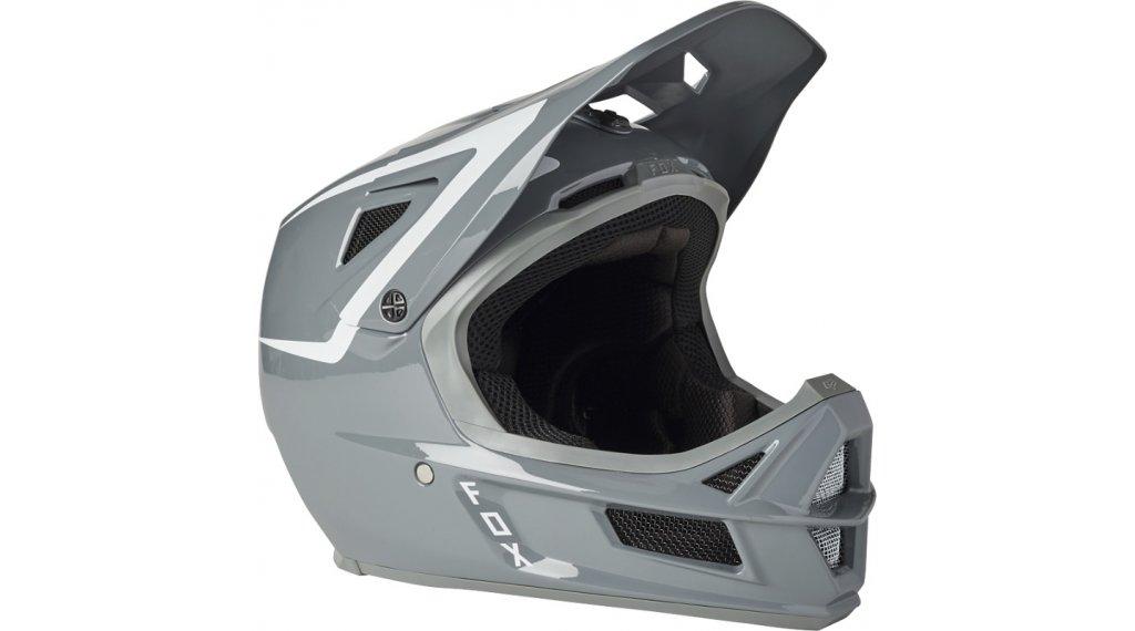 Fox Rampage Comp Repeat casco integral Fahrradhelm tamaño L gris