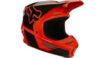 Fox V1 Revn casco integral Fahrradhelm niños tamaño YS flo naranja