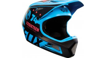 Fox Rampage Comp DH-Helm Full Face blue