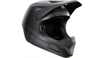 FOX Rampage Comp Black DH-helmet Full Face mat black