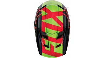 Fox Rampage Pro Carbon DH-Helm Full Face Gr. XXL (63-64cm) red