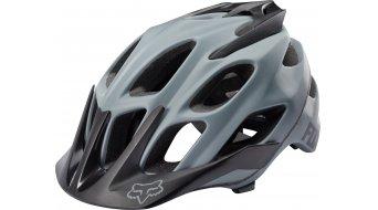 Fox Flux MTB-Helm Solid Color Gr. L/XL (59-63cm) grey