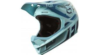 Fox Rampage Pro Carbon Seca MTB-Helm Full Face Gr. XL (61-62cm) ice blue