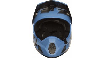 Fox Rampage Comp Creo MTB-Helm Full Face Gr. XL (61-62cm) blue/red