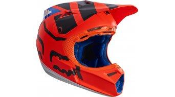 Fox V3 Creo casco Caballeros MX-casco