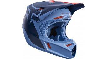 Fox V3 Libra Helm Herren MX-Helm Gr. L (59-60cm) orange/blue