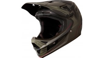 Fox Rampage Pro carbono Kustm MIPS DH Full Face casco tamaño S (55-56cm) fatigue verde/negro