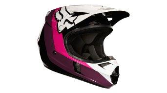 FOX V1 Halyn casco MX bambini . black/pink