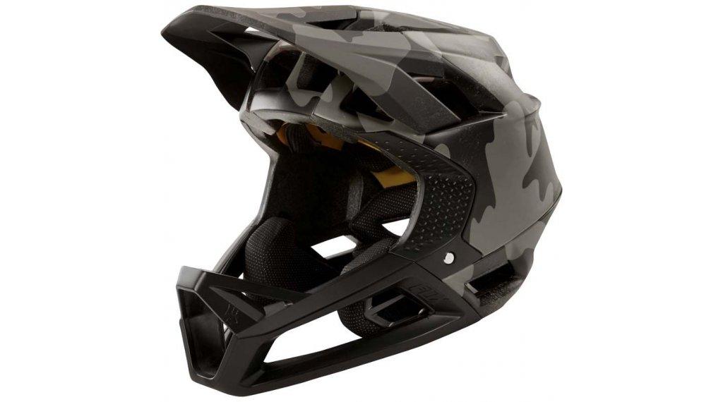 Fox Proframe Fullface Helm Gr. L black camo Mod. 2020