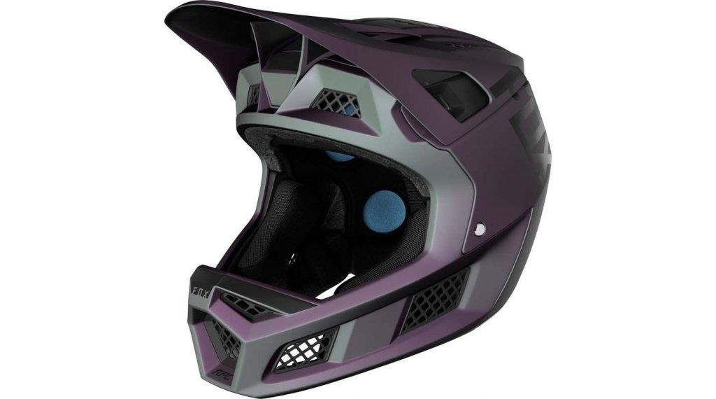 Fox Rampage Pro Carbon Fullface Helm Gr. L black iri Mod. 2020