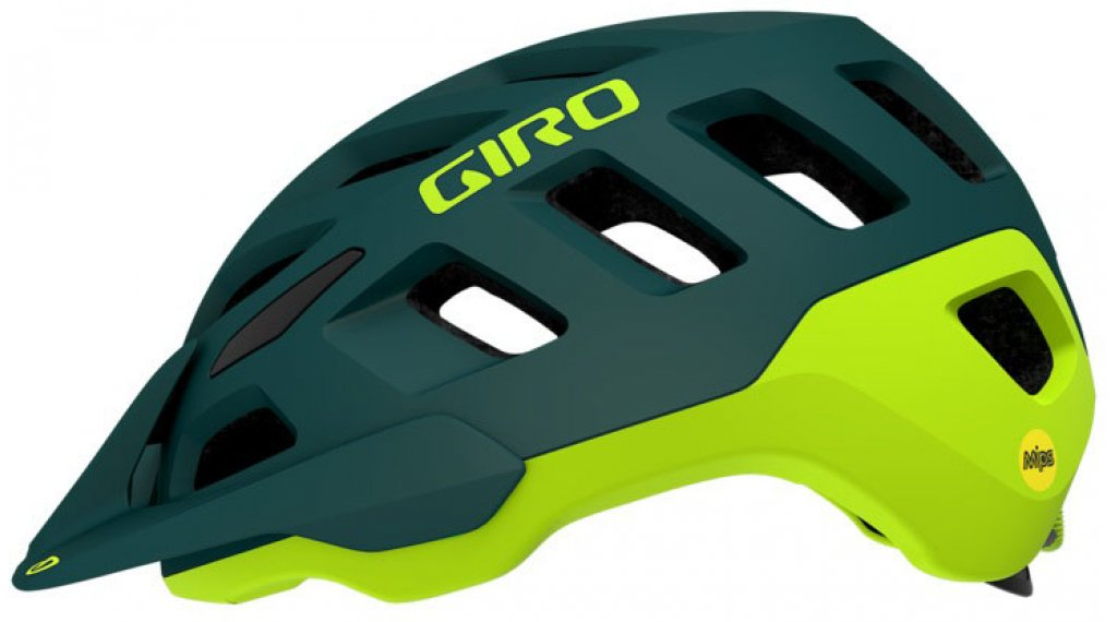 Giro Radix MTB-Helm Gr. S (51-55cm) matte true spruce/citron Mod. 2020