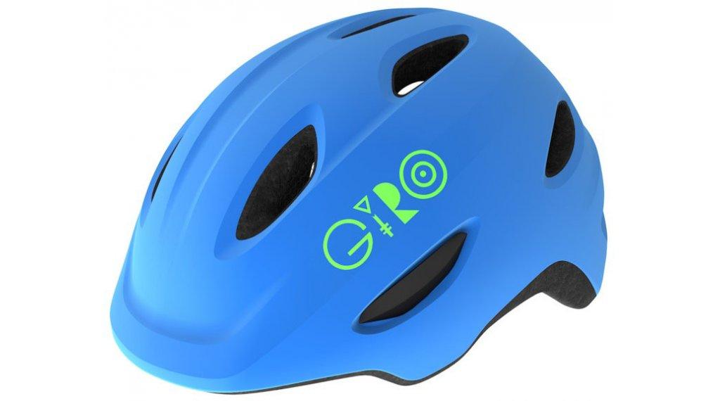 Giro Scamp MIPS Kinder-Helm Gr. XS (45-49cm) matte blue/lime