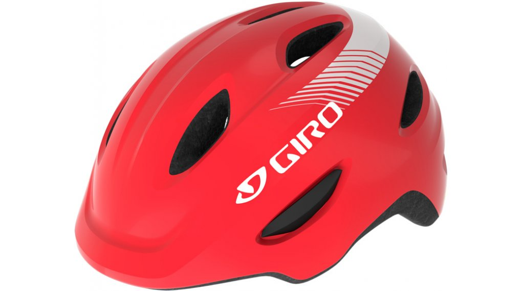 Giro Scamp Kinder-Helm Gr. S (49-53cm) bright red