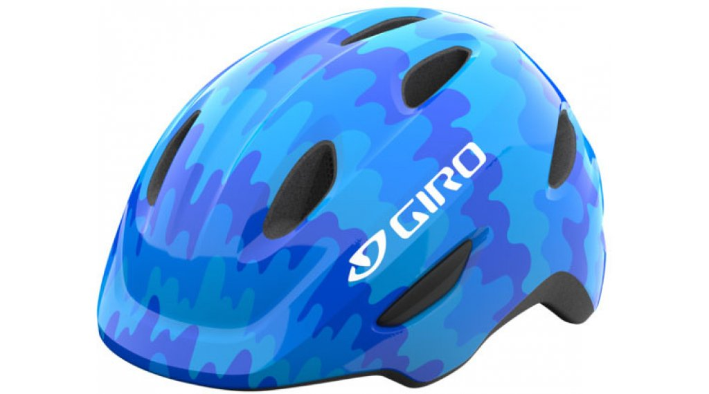 Giro Scamp Kinder-Helm Gr. XS (45-49cm) blue splash