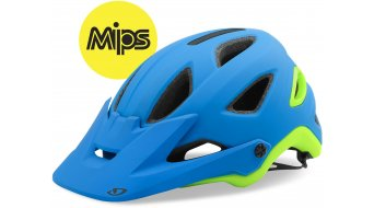 Giro Montaro MIPS MTB(山地)头盔 型号 S (51-55厘米) blue/青柠色 款型 2018
