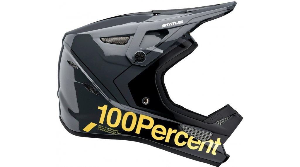100% Status DH/BMX Helm Kinder Gr. S (47-48cm) carby charoal