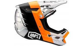 100% Aircraft DH Chrome Edition MTB Fullface Helm chrome