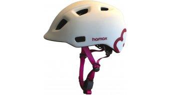 Hamax Thundercap 儿童头盔 型号 white/粉色 款型 2019