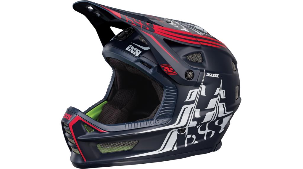iXS XULT Helm DH-Helm Gr. L/XL (60-62cm) black/red Mod. 2019