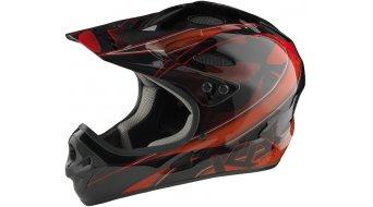 Kali Savara DH-casco tamaño XL (61-62cm) masquerade rojo