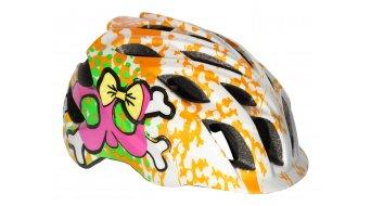 Kali Chakra casco casco bambino Kids mis. unisize (48-54cm) white/orange
