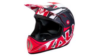 Kali Avatar carbono DH/FR casco tamaño L (59-60cm) negro/rojo Mod. 2017