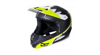 Kali Zoka casco DH casco bambino mis. YM (50-51cm) Block Lime mod. 2017