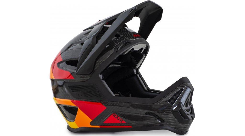 Kask Defender MTB Fullface-Helm Gr. S (50-56cm) orange