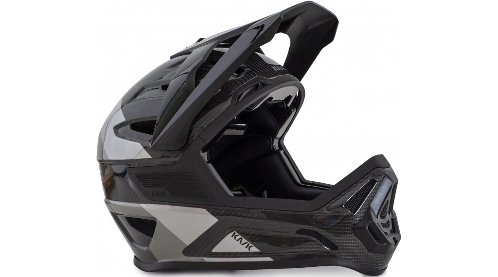 Kask Defender MTB Fullface-Helm Gr. S (50-56cm) black