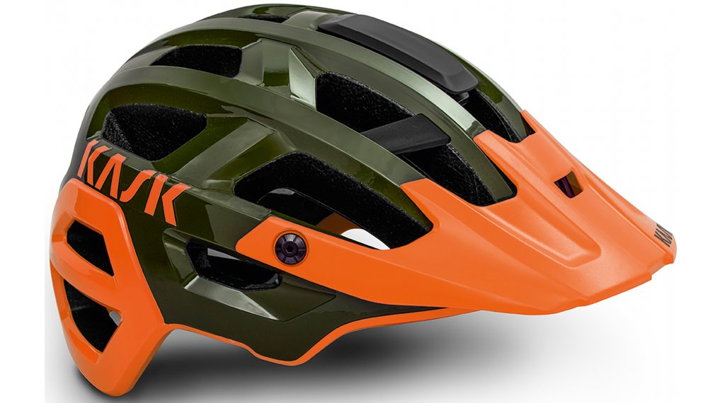 Kask Rex MTB-Helm Gr. M (52-58cm) moss/orange