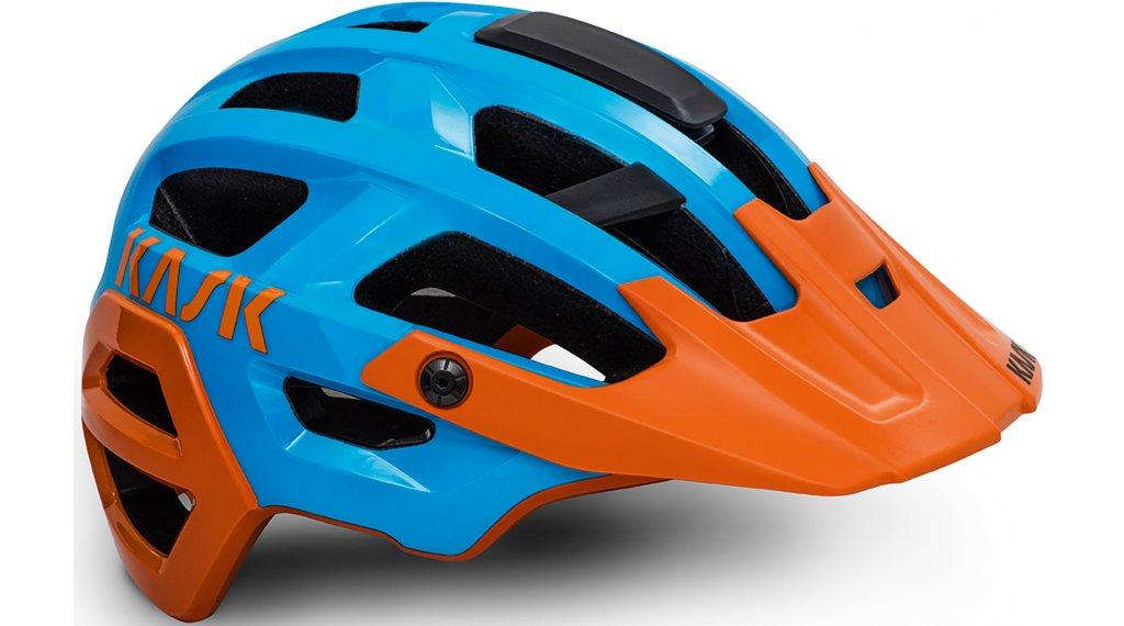 Kask Rex MTB-Helm Gr. M (52-58cm) light blue/orange