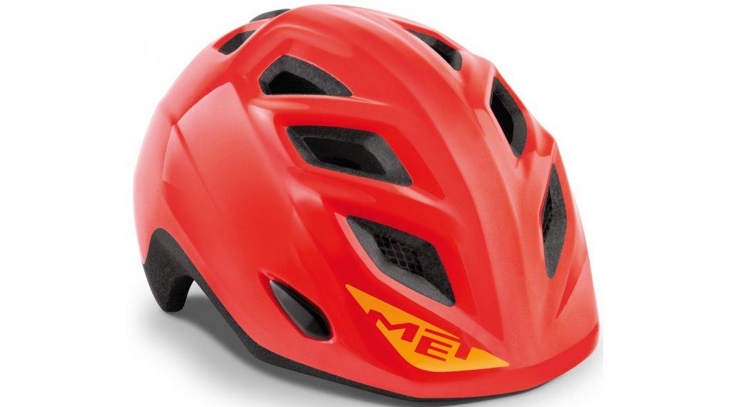 MET Elfo Kinder-Helm Gr. unisize (46-53cm) red/glossy