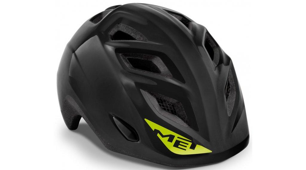 MET Elfo Kinder-Helm Gr. unisize (46-53cm) black/glossy
