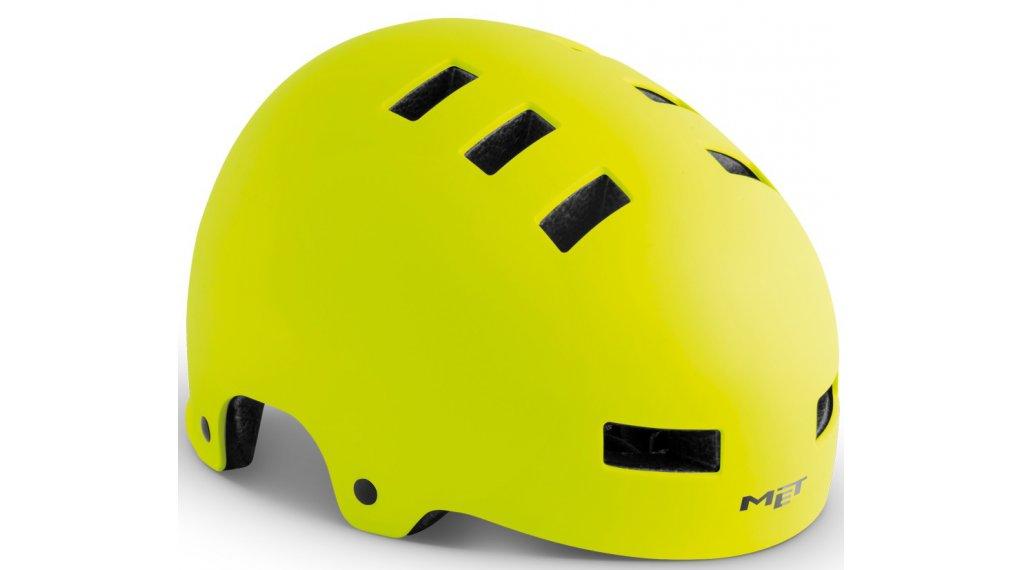 MET Zone City-Helm Gr. S (51-55cm) safety yellow/matt