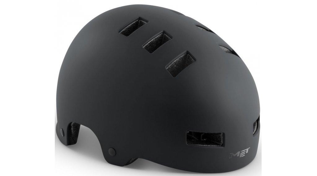 MET Zone City-Helm Gr. S (51-55cm) black/matt