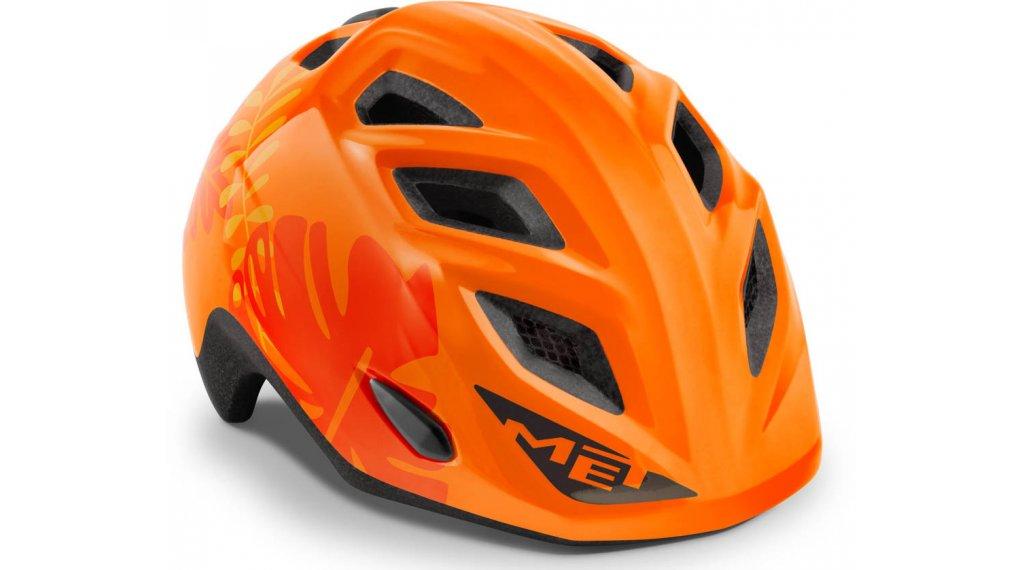 MET Elfo niños-casco tamaño unisize (46-53cm) naranja jungle/glossy